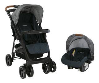 Coche Para Bebé Con Silla Para Auto Bebesit Torino + Regalo