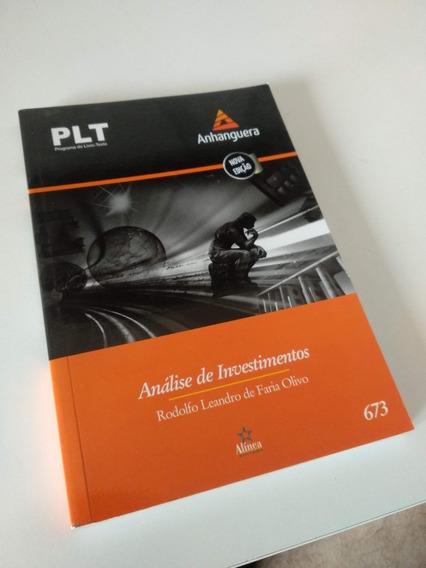 Plt 673 - Análise De Investimentos - Adm - Contabilidade