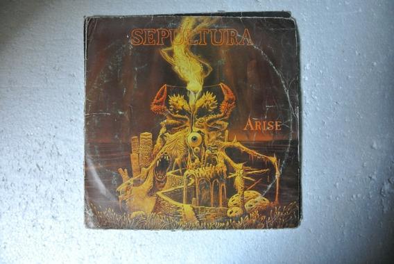 Lp Sepultura - Arise - Com Encarte - Nacional