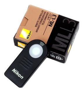 Control Remoto Ml-l3 Nikon D3400 D5500 D7100 D7200 D7000