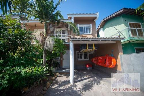 Casa Com 3 Dormitórios À Venda, 140 M² Por R$ 450.000,00 - Guarujá - Porto Alegre/rs - Ca0700