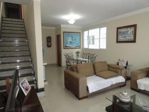 Casa Com 6 Dormitórios À Venda, 240 M² Por R$ 900.000,00 - Aparecida - Santos/sp - Ca0383
