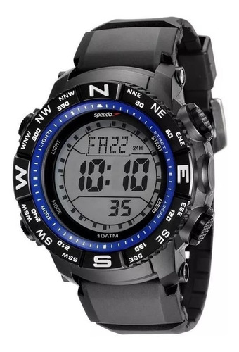 Relógio Speedo Masculino 81137g0evnp6 Esportivo Digital