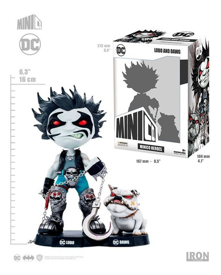 Dc Comics - Lobo E Dawg - Mini Co