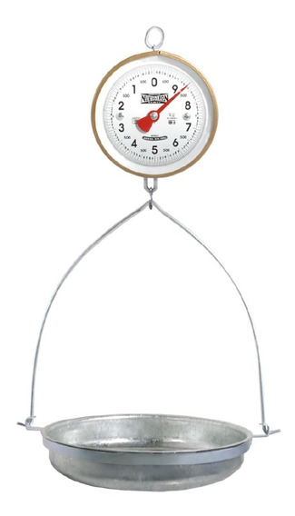 Bascula De Reloj Colgante 10 Kg C/charola Nuevo Leon 2949