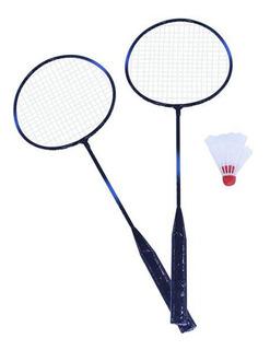 Raqueta Badminton X 2 Piezas Pluming X 2 Piezas En Estuche