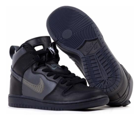 Sneaker - Tênis - Nike Jordan Sb - Dunk High Pro - Black -41