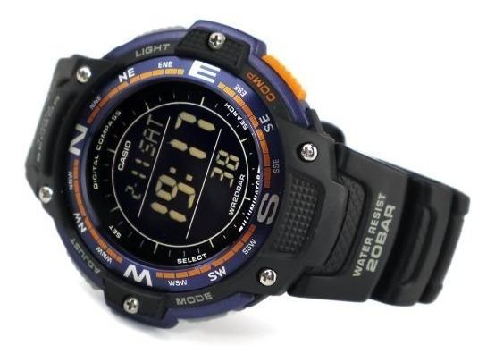 Relógio Casio Protrek Sgw-100 Termômetro Bússola Original
