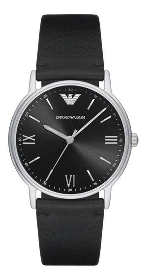 Relógio Emporio Armani Couro - Ar11013/2pn