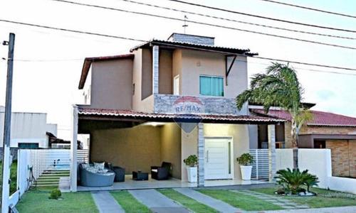 Casa Alto Padrão - 3 Quartos - 2 Suítes - À Venda Por R$ 600.000 - Green Club Iii - Ca0245