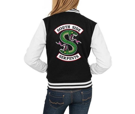 Jaqueta College Feminina Riverdale South Side Serpents Série