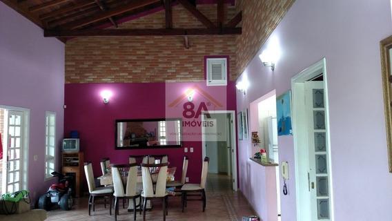 Linda Chácara No Condomínio Porta Do Sol. 3 Dormitórios - Oa34