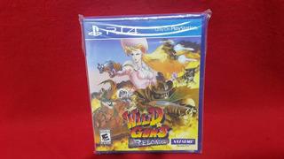 Wild Guns Reloaded Limited Edition Llavero Ps4 Nuevo Sellado