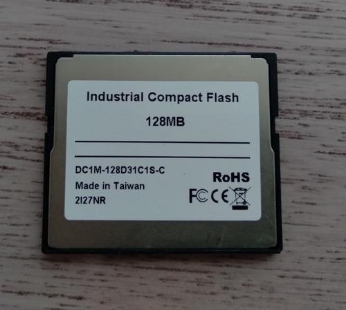 Cartão De Memória Compact Flash Sandisk 128mb