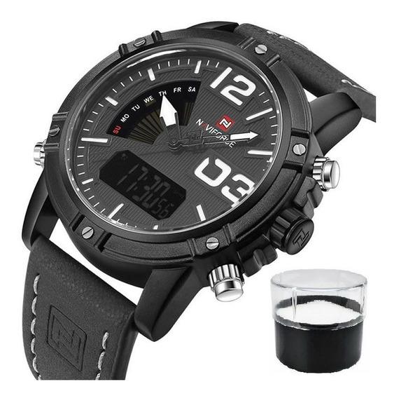 Relógio Naviforce Modelo 9095 Militar Lançamento