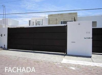 Rr- Magnífica Residencia En Renta En La Cañada, Juriquilla