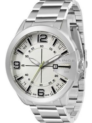 Relógio Lince Masculino Mrm4333s B2sx Prata
