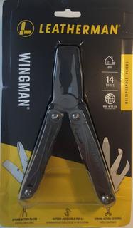 Leatherman Wingman Multitool, Aço Inoxidável Bainha De Nylon