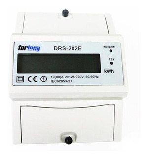Medidor Wattímetro De Consumo Bifásico 80a Bivolt 110v/220v