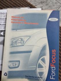 Manual Ford Focus 2008 Completo Ótimo Estado