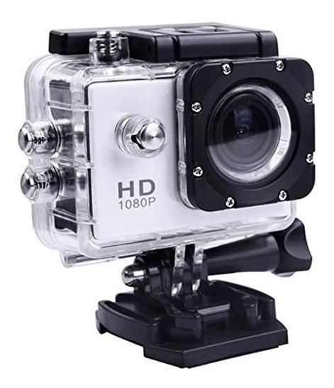 Mini Câmera Filmadora A Prova Dágua Tipo Go Pro Sports