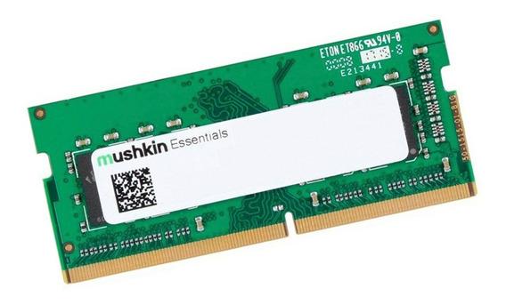 Memoria Mushkin Importada Notebook Ddr4 16gb 2666 Gtía Cuota
