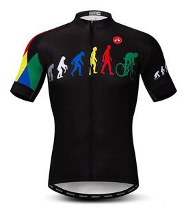Jersey Evolution Reflejante Bici Ruta, Mtb, Ciclismo Deporte