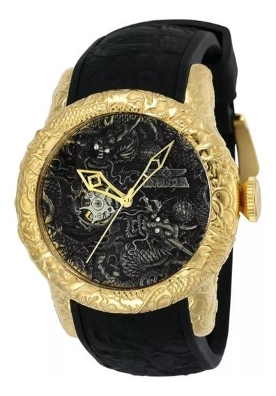 Relógio Masculino Invicta Yakuza Dragon 25082 Com Caixa