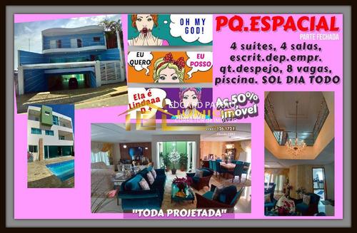 Imagem 1 de 15 de Residencia Fino Trato!! Pq.espacial - 595