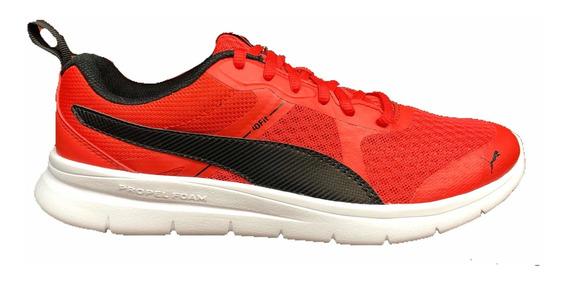 Tenis Puma Flex Essential Negro 365268-01 Look Trendy
