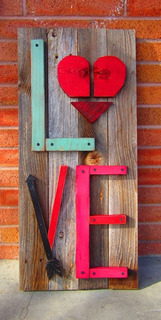 Cuadro Decorativo Vintage Love 4 By Green Life