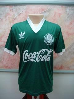 Camisa Futebol Palmeiras S. Paulo Sp adidas Jogo Antiga 1858