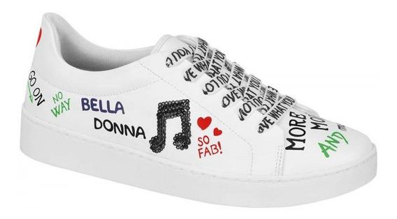 Tênis Feminino Vizzano Transfer Bella Donna Branco 1214254