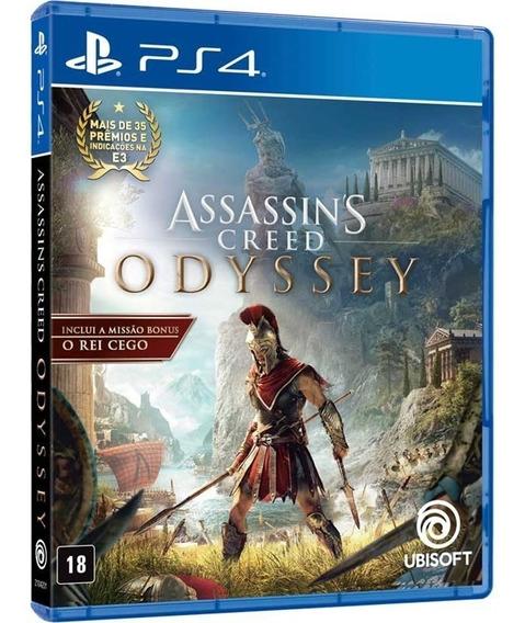 Assassins Creed Odyssey Ps4 Mídia Física Lacrado Original