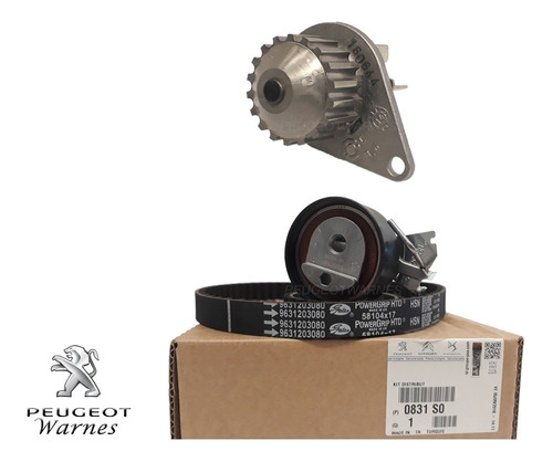 Distribucion + Bomba 100% Originales Peugeot Partner 1.4 8v