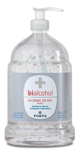 Alcohol En Gel Neutro 1 Litro 1000ml Bialcohol Rex