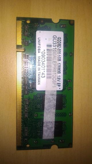 Memória 1gb Ddr2 800mhz Unifosa - Notebook