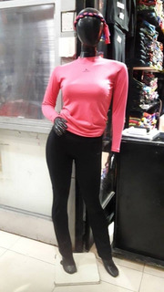 Camiseta Termica Air Wind Mujer Remera Termica Blusa Termica