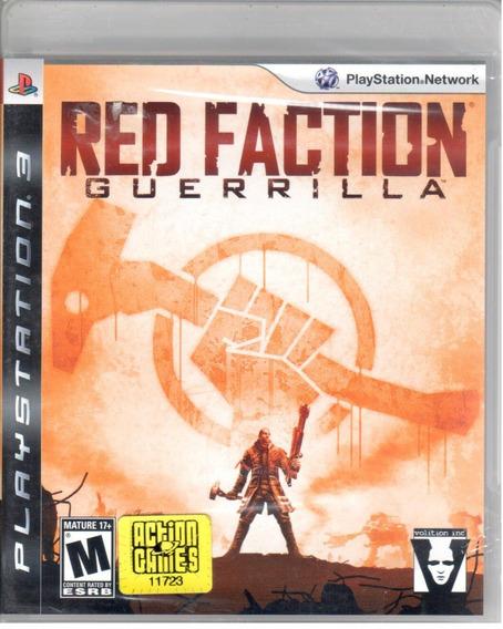 Red Faction Guerrilla Ps3 Original Mídia Física Lacrado