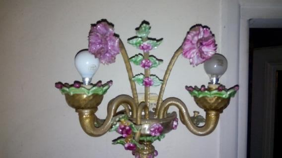 Iluminacion Aplique Antiguedade En Murano Par U$s 1.200