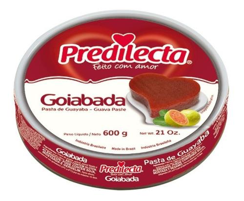 Imagem 1 de 1 de Goiabada Lata 600g Predilecta