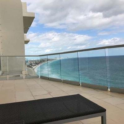 Departamento En Zona Hotelera De Cancun De 3 Recamaras.