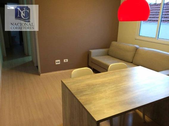 Apartamento À Venda, 52 M² Por R$ 315.000,00 - Vila Guiomar - Santo André/sp - Ap8854