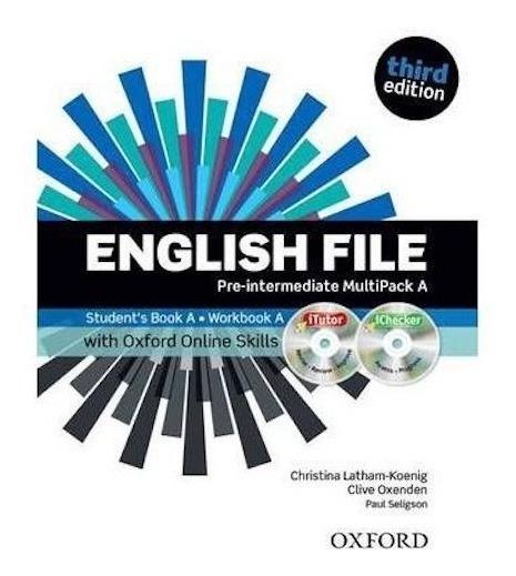 English File Pre Intermediate Multipack A 3rd Ed. - Oxford