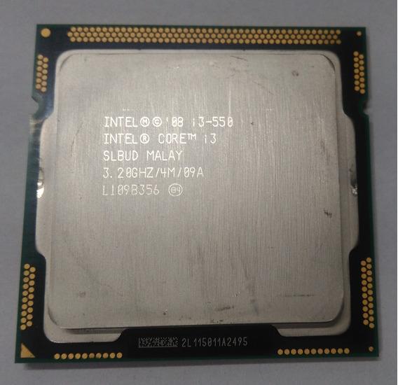 Processador Intel® I3 550 4mb Cache, 3.20 Ghz Usado +cooler