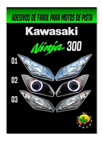 Adesivo Farol Ninja 300 (moto De Pista)