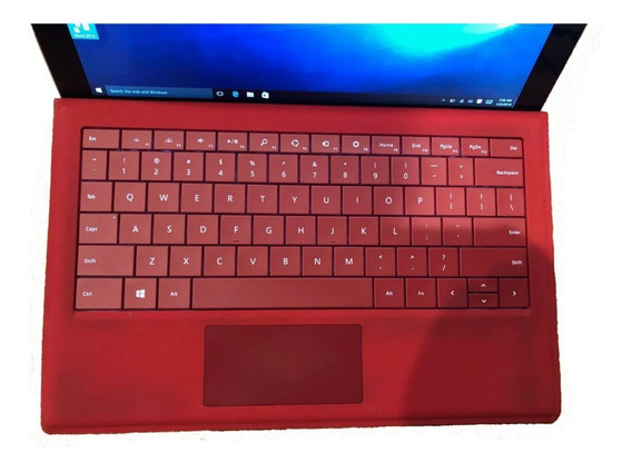 Tablet Microsoft Surface Pro 3 Core I7 8/256gb Windows Tecla