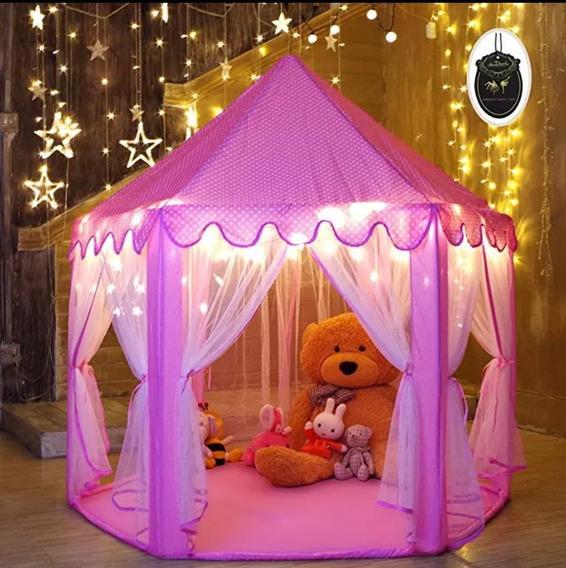 Tenda Cabana Castelo Infantil Princesas 2020 Super Luxo