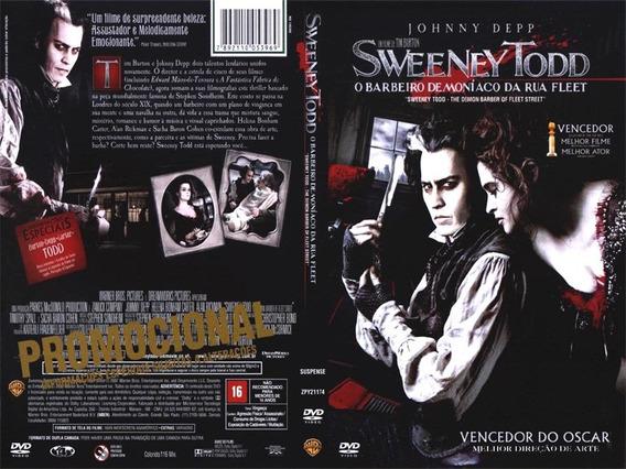 Dvd Filme Sweeney Todd - Johnny Depp