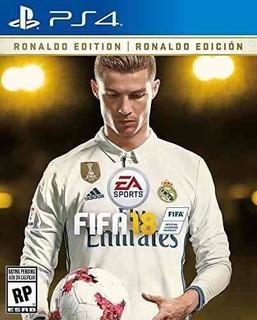 Fifa 18 Ronaldo Edition - Ps4 Juego Físico - Sniper Game